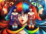 Commission: Gemini Twins