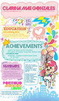 Rianbowgirl Resume by rianbowart
