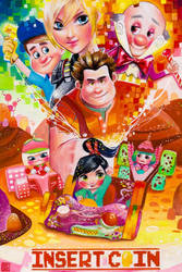 Commission: Wreck it Ralph by rianbowart