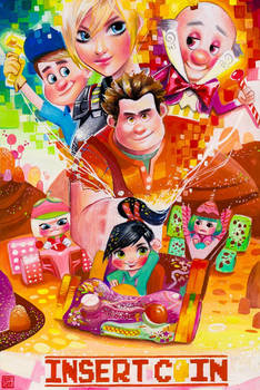 Commission: Wreck it Ralph
