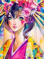 Sakura by rianbowart