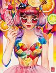 Ice Cream by rianbowart
