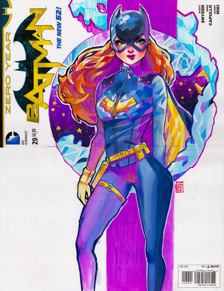 Batgirl Commission by rianbowart