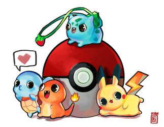 Pokemon by rianbowart