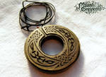 GREEN CELTIC MEDALLION