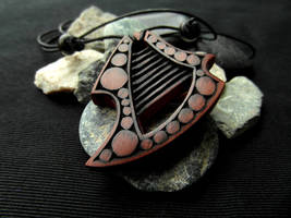 FANTASY HARP PENDANT by MassoGeppetto