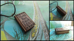THE HOBBIT MINI BOOK PENDANT