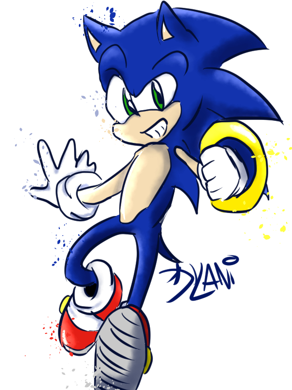 Sonic! Living wild and free by sonicgir7467