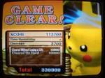 Pikachu on Brawl Win