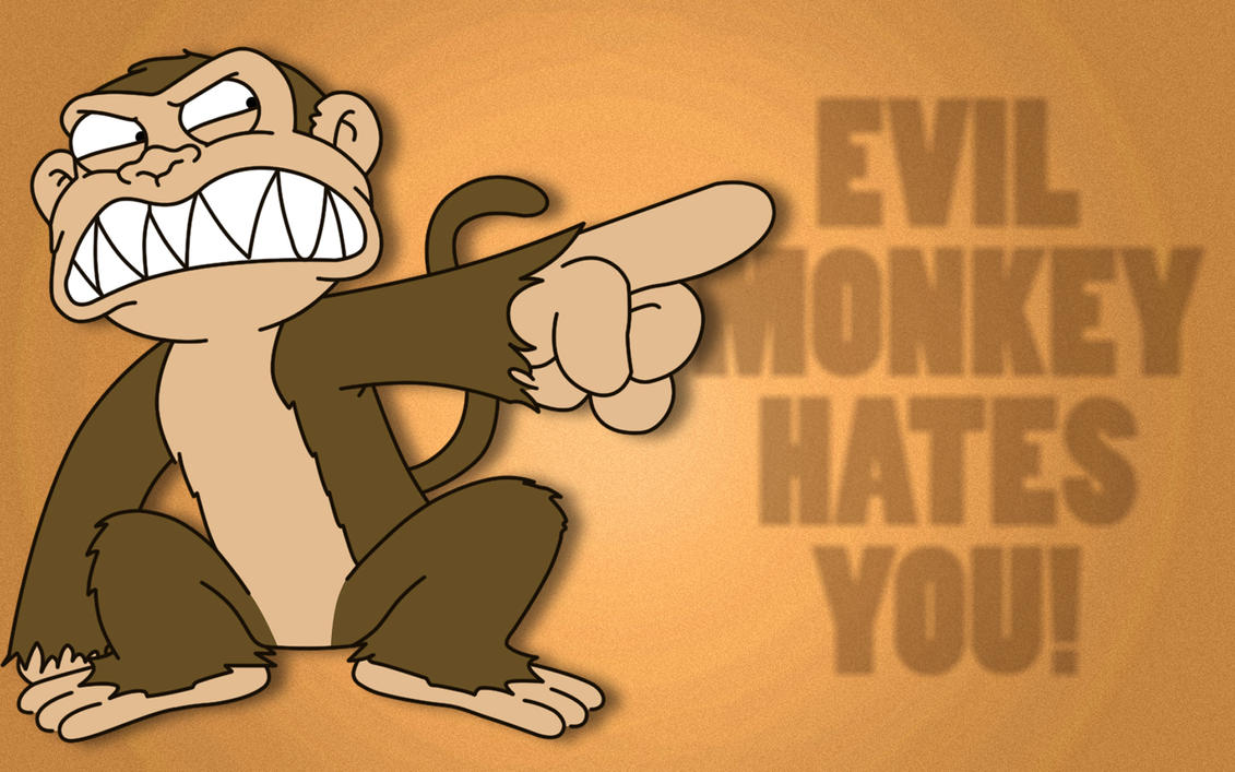 Evil Monkey By Ps7a On Deviantart
