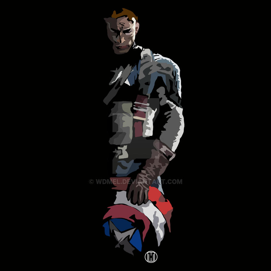 In Shadow: Capitan America by wdmel