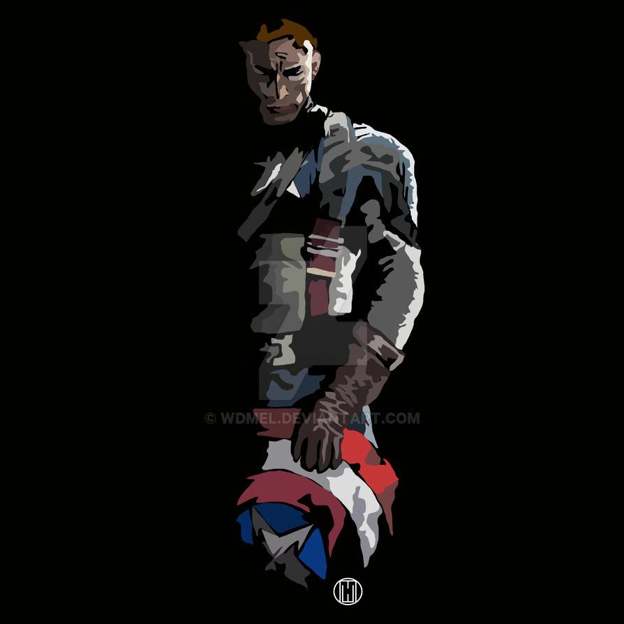 In Shadow: Capitan America by wdmel