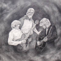 The Moody Blues -30x30-pencil