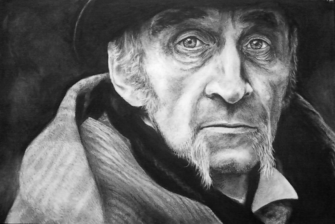Charcoal Portrait Final by LisaCrowBurke