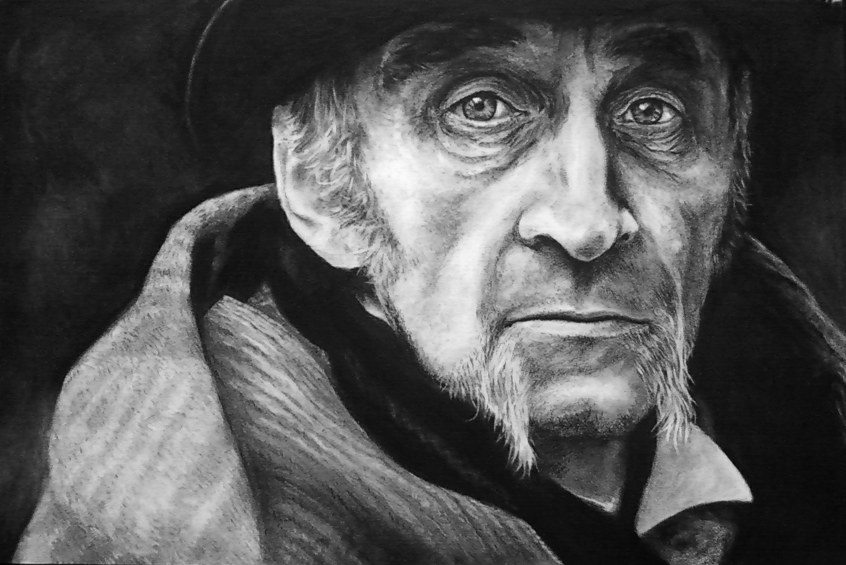 Charcoal Portrait Final by LisaCrowBurke