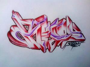ballpointed 'KeyeN'