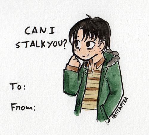 Stalking Valentine by staptra