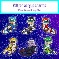 Voltron charms!