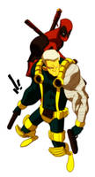 oO Cable and Deadpool Oo