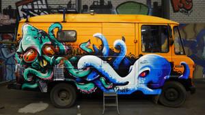 Fukushima Calamari by WhoAm-Irony