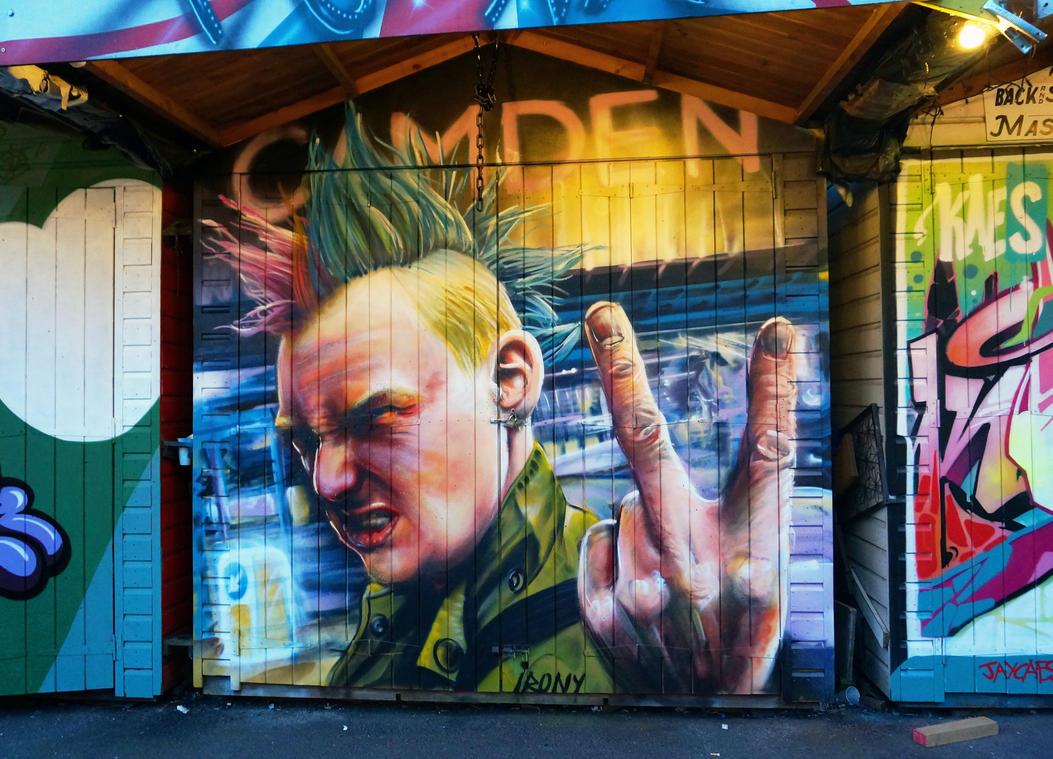 Camden Market by WhoAm-Irony