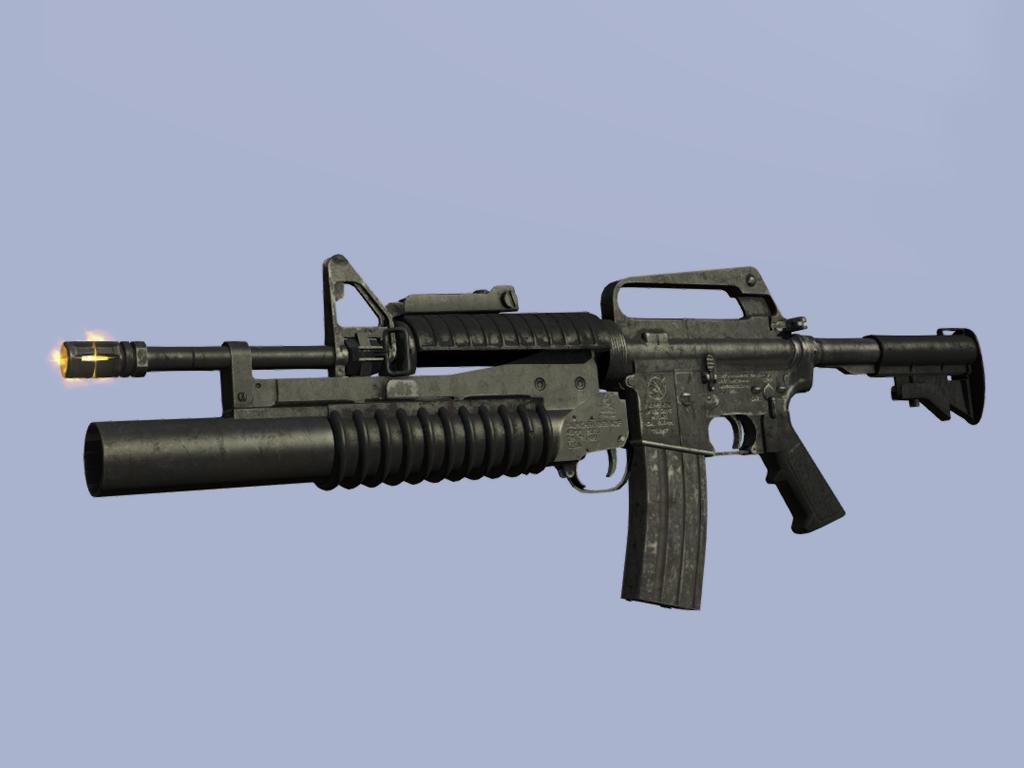 M16A2 carbine M203 by Yano-t11
