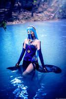 You are the ocean's grey waves - Azura Cosplay by Tinu-viel
