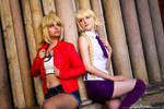 Jeanne d'Arc and Mordred - Fate Apocrypha cosplay