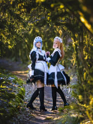 Felicia and Flora - Fire Emblem Fates Cosplay
