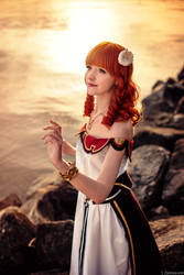 Sunset Princess - Celica from Fire Emblem Cosplay