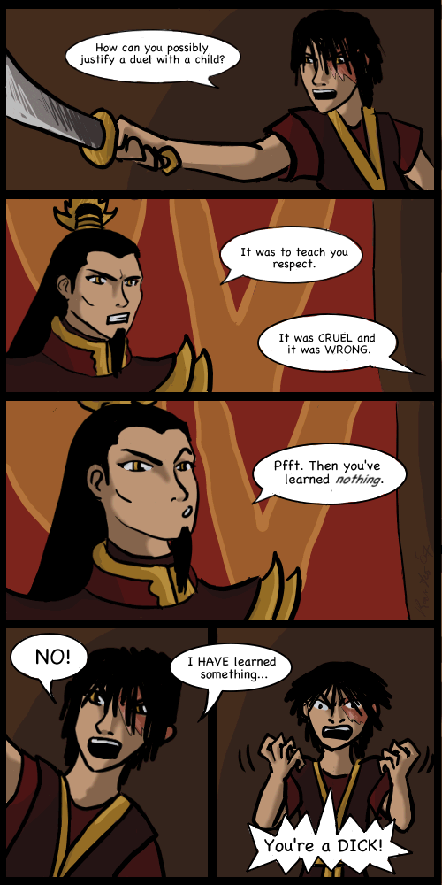 Zuko Ozai Fanfiction Ozai Zuko Avatar