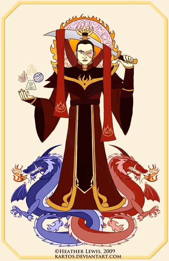Fire Lord Zuko Portrait by kartos