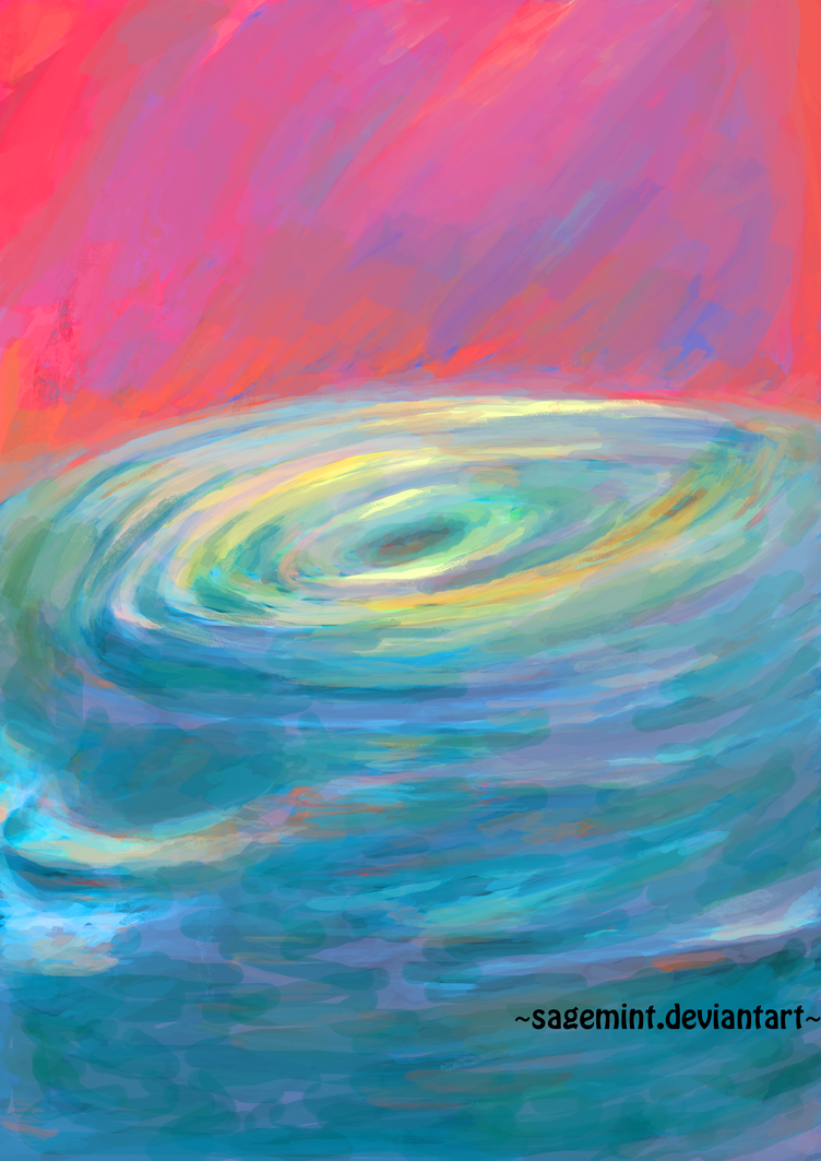 Water/whirlpool study by SageMint
