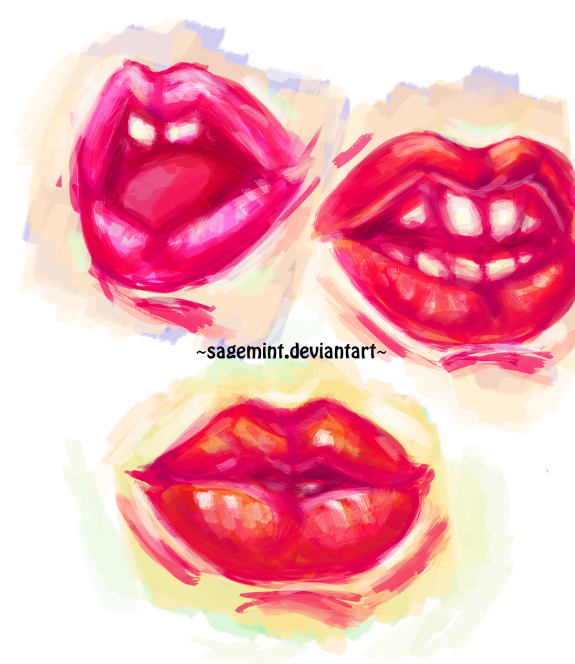 Mouth/teeth practice by SageMint