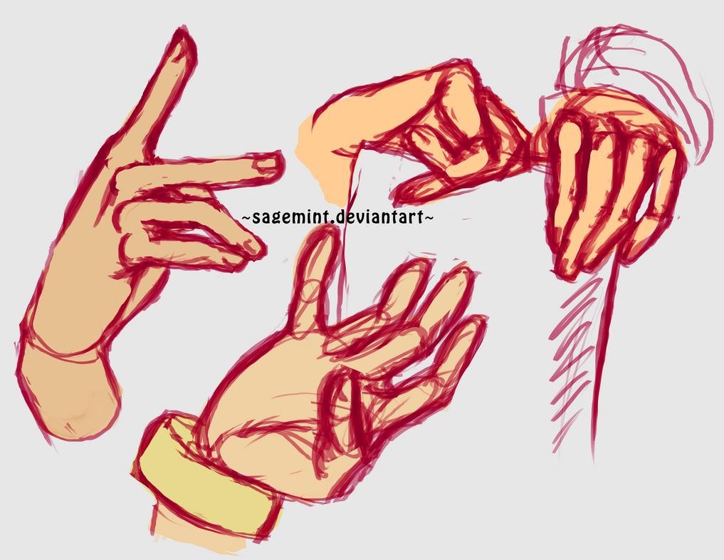 Hand studies by SageMint