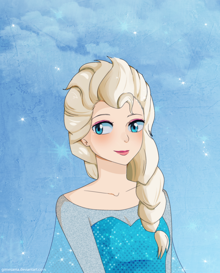 Elsa by Gimesama