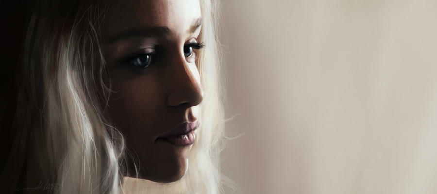Daenerys by AniaMitura