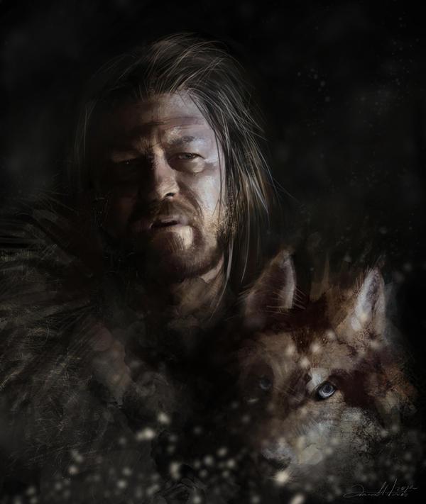 Eddard Stark by AniaMitura