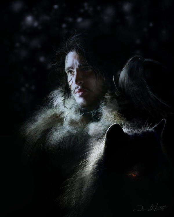 Jon Snow by AniaMitura