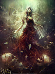Neria: CLad of Darcness by dalisacg