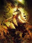 Oriana Absorbing the Darkness