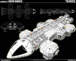 Space 1999 Eagle Transporter 2