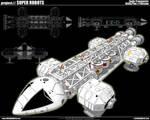 Space 1999 Eagle Transporter 3