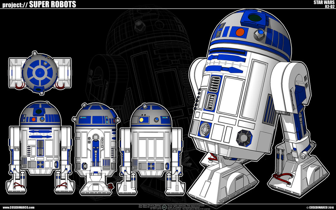 Star Wars - R2-D2 by cosedimarco