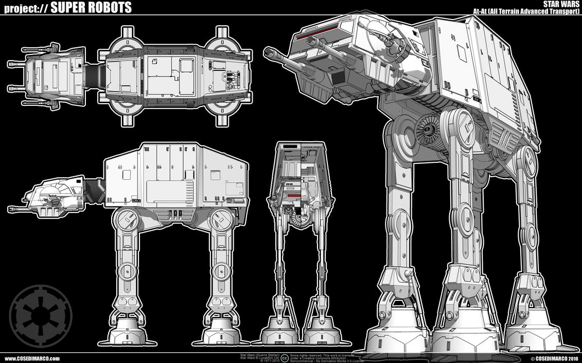 At-At by cosedimarco