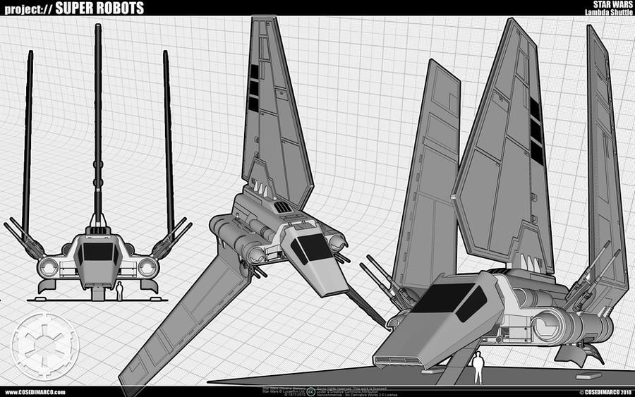 Lambda Shuttle WIP by cosedimarco