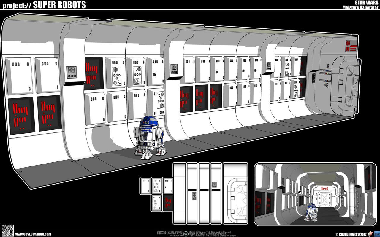 Tantive Iv Corridor By Cosedimarco On Deviantart