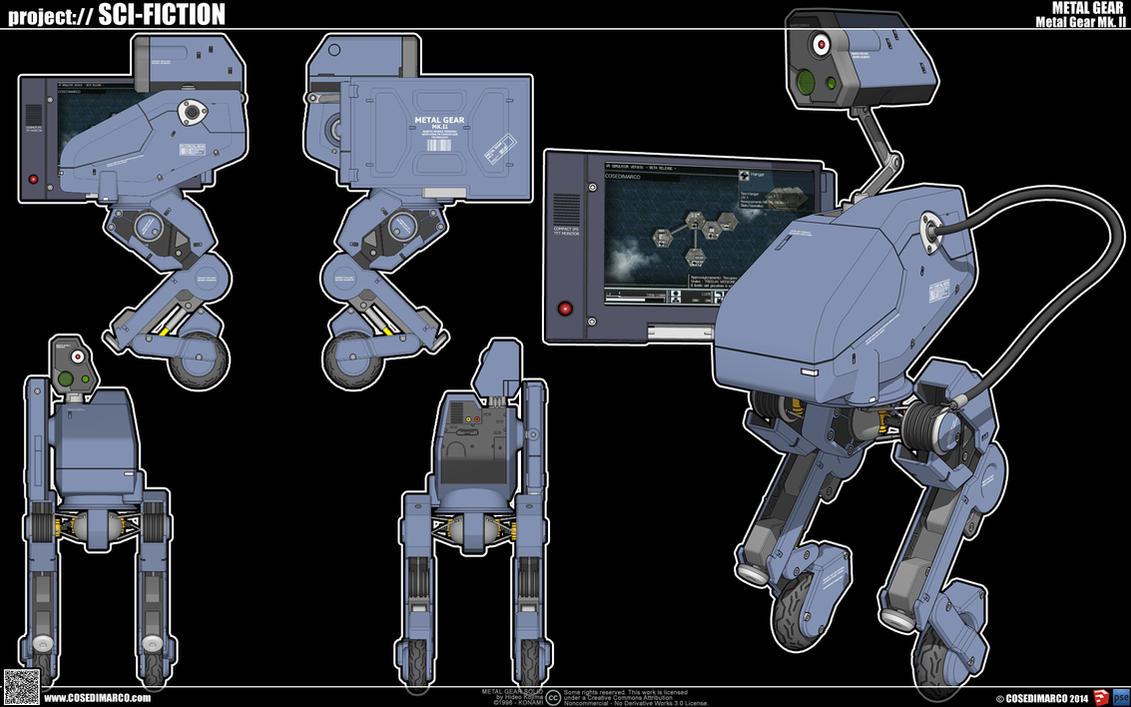Metal Gear Mk. II by cosedimarco