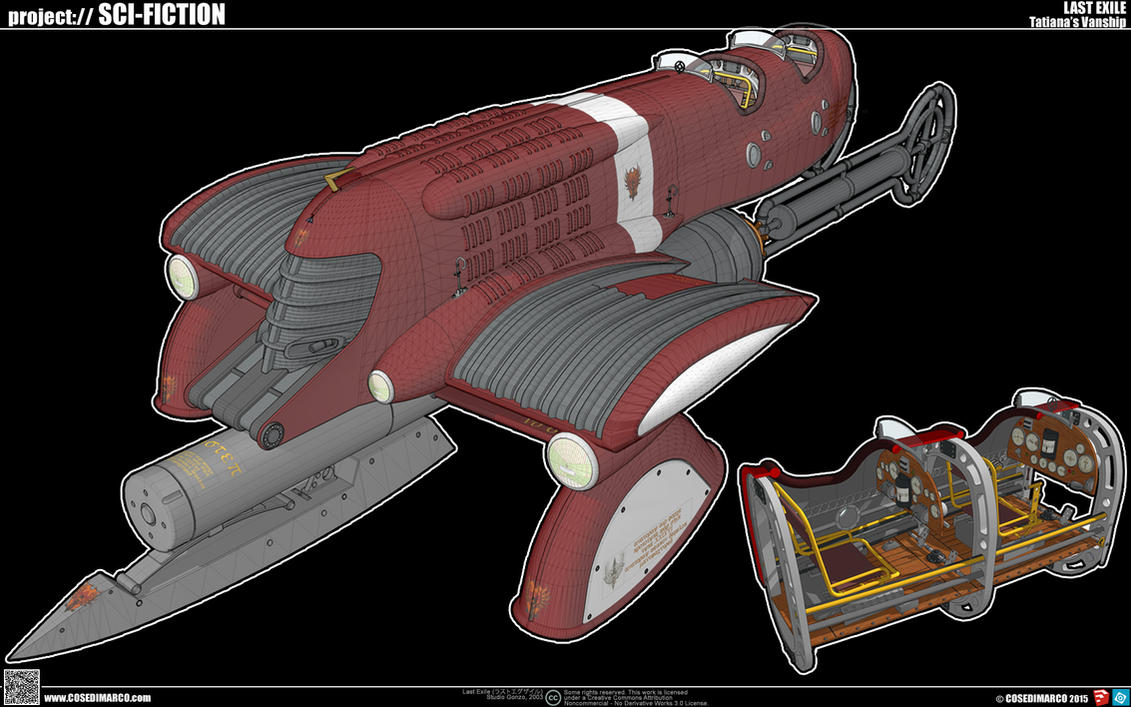 Tatiana's Vanship by cosedimarco