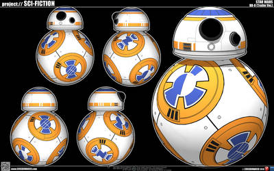 BB-08 Droid by cosedimarco